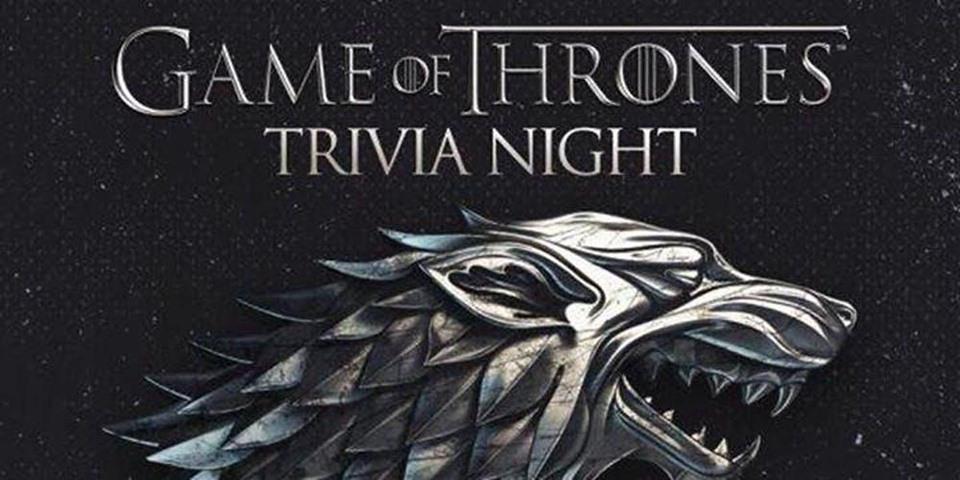 Game of Thrones Trivia Kelowna