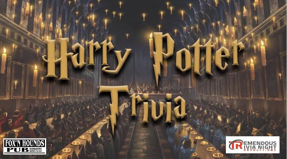 Harry Potter Trivia Kamloops